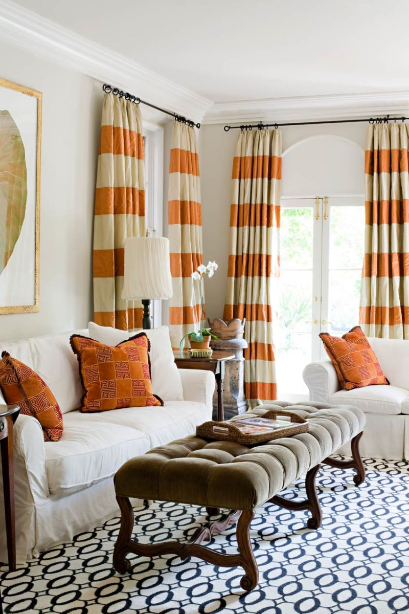 Curtains in stripes (2)