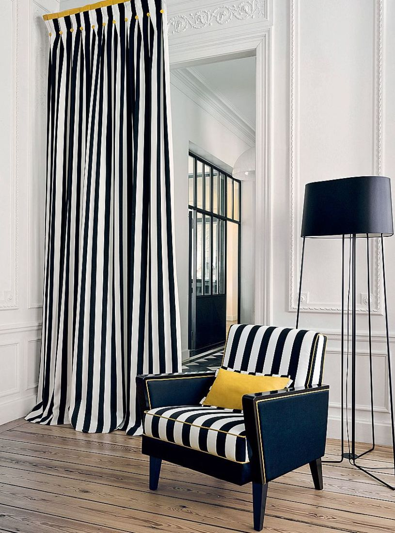 Curtains in stripes (3)