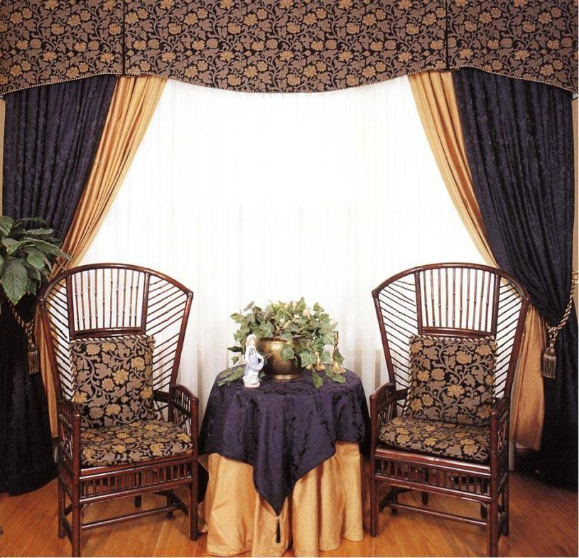 Двойные шторы (27)