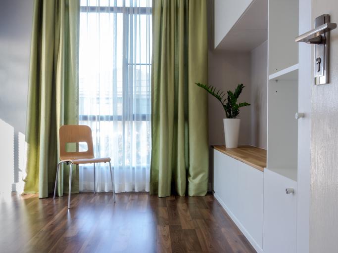 Interior design of modern Living room/ home improvement & decoration concept
